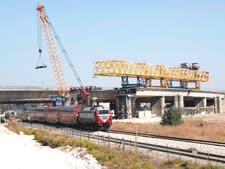 גשר ידין בחיפה [צילום: רכבת ישראל]