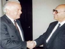יעקב נמרודי ונשיא גרוזיה, אדוארד שווארדנדזה
