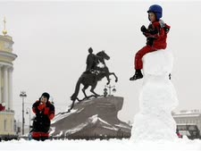 אנדרטת פטר הגדול [צילום: דמיטרי לובצקי/AP]