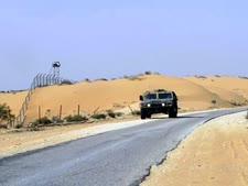 """סיור צה""""ל על גבול מצרים [צילום: פלאש 90]"""