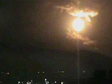 תקיפה בסוריה [צילום ארכיון: מן הטלוויזיה]