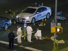 זירת הרצח בברוקלין, אמש [צילום: AP]