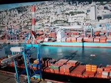 סחורות וחומרי גלם יעוכבו בנמל [צילום: איתמר לוין]