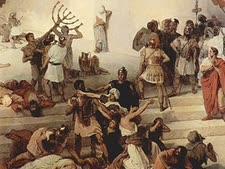 חורבן בית המקדש [צילום: ציורו של פרנצסקו הייז]