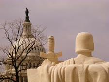 גבעת הקפיטול ומושב הקונגרס בוושינגטון