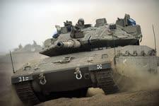 """טנק מקומי [צילום: דובר צה""""ל]"""