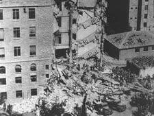 """פיצוץ מלון המלך דוד [צילום: הוגו מנדלסון/לע""""מ]"""