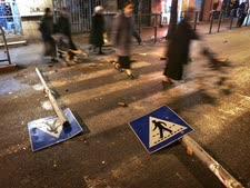 הפגנות החרדים נגד מצעד הגאווה [צילום: AP]