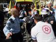 פיגוע דקירה בשוק מחנה יהודה ירושלים [צילום: יונתן סינדל/פלאש 90]