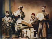 """תזמורת יהודית בבבל [צילום: יח""""צ]"""