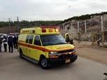 הפצוע פונה במהירות לבית חולים [צילום: באדיבות רשת רוטרניק]