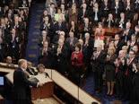 טראמפ והרפובליקנים בקונגרס [צילום: סקוט אפלווייט, AP]
