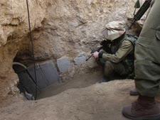 מנהרת טרור של החמאס [צילום: AP]