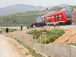 רכבת ישראל [צילום: באסל עווידאת/פלאש 90]