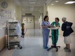 """בית חולים הדסה. 250 עובדים בחל""""ת [צילום: הדס פרוש, פלאש 90]"""
