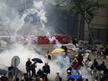 גז מדמיע בהונג-קונג [צילום: וינסנט יו, AP]