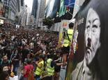 ההפגנות אתמול בהונג-קונג [צילום: וינסנט יו, AP]