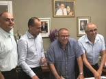 מעמד החתימה על ההסכם [צילום: אגף הדוברות בהסתדרות]