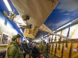 רכבת השלל [צילום: אלכסנדר זימלינצ'נקו, AP]