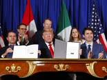 חתימת הסכם הסחר [צילום: פבלו מונסיביאס, AP]
