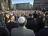 הפגנה נגד האנטישמיות, קלן [צילום: AP]