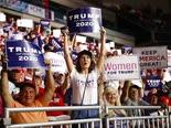 תומכי טראמפ בניו המפשייר [צילום: פטריק סמנסקי, AP]