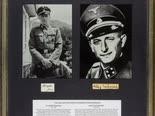 חתימות אייכמן ומנגלה [צילום: Alexander Historical Auctions]