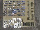 חלק מכלי הנשק המוסבים שנתפסו לאחרונה [צילום: משטרת ישראל]