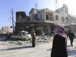 הפצצה של אסד במחוז אידליב [צילום: גיית א-סעיד, AP]