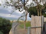 גדר דרומית של קיבוץ עין גב [צילום: אלי גבאי]