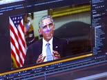 סרטון מזויף של ברק אובמה [צילום: AP]