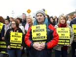 הפגנה באירלנד נגד הברקזיט [צילום: פיטר מוריסון, AP]