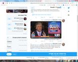 סימון ציוצים של טראמפ על הבחירות