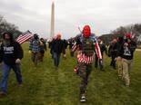 אנשי ימין קיצוני בוושינגטון [צילום: קרולין קסטר, AP]