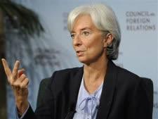 """כריסטין לגארד, יו""""ר קרן המטבע הבינלאומית [צילום: AP]"""