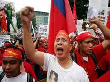 הפגנות למען הדמוקרטיה במיאנמר [צילום: AP]