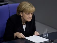 אנגלה מרקל, קנצלר גרמניה. לא נשארו לה בני ברית? [צילום: AP]