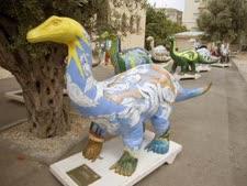 דינוזאורים מתוך התערוכה [צילום: אייל אמיר-מדעטק]