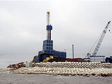 מכרה נפט [צילום: AP]
