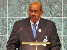 מואשם ברצח עם. עומר אל-בשיר, נשיא סודן [צילום: AP]