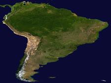 אמריקה הלטינית. ביקוש עצום לידע ישראלי [צילום: NASA]
