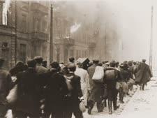 גטו ורשה [צילום: מוזיאון השואה, וושינגטון]