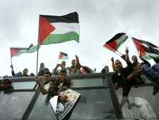 שחרור מחבלים שהיו כלואים בישראל [צילום: פלאש 90]