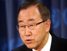 """מזכ""""ל האו""""ם באן קי מון [צילום: AP]"""