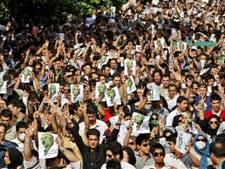 הפגנות באירן ביום שני [צילום: AP]