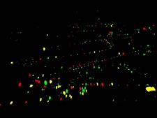 ניתוח התפלגות מקורות האור בעיר [צילום: דוברות הטכניון]