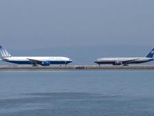 מטוסי יונייטד בסן פרנסיסקו [צילום: דילן אש]
