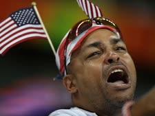 דודו של מתאבק אמריקני חוגג [צילום: רוברט בוקאטי, AP]
