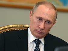 """פוטין. """"להגן על הרוסים"""" [צילום: AP]"""
