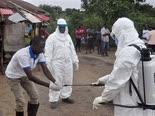 בדיקות אבולה בליבריה [צילום: AP / Abbas Dulleh]